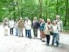 Wandeling met blinden 7/6/2009